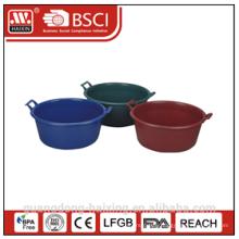 plastic basin w/handles