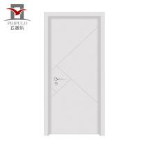 Calidad de diseño agradable asegurado puertas de madera pulido