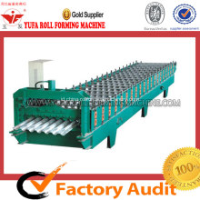Membuat Lembar Permukaan Dinding Roof Cladding Corrugated Forming Machine