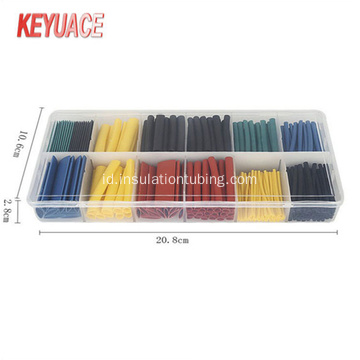 280 PCS Heat Shrink Tube kit dengan kotak