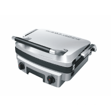 Professional Stainless Steel 5-in-1 Panini Grill Maker for Bread