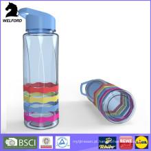 Plástico, esportes, água, garrafa, palha