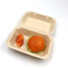 Best Sale Biodegradable Bagasse Box Party Disposable Plate High Quality Sugarcane Food Container