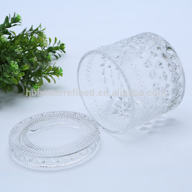 Br 1817 Handmade Glass Candle Jar Hot Sale Glass