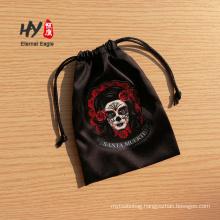 Fashion unique satin drawstring bag