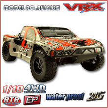 1/10 Scale 4WD Big Wheel Electric short course RC Brushless Car