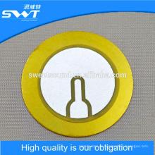 37mm 3.9khz пьезоэлектрический керамический диск беспроводной зуммер