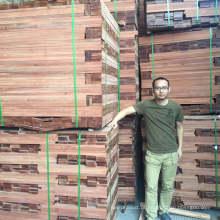 Original de primeira mão piso Balsamo Hardwood Flooring Timber