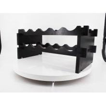 Minghou Modular square X module 40 bottle pine wood wine rack sets