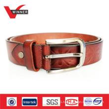 2014 Leather belt factory handmade italian leather belts