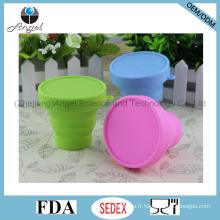 170ml Coupe de boisson en silicone pliable et tasse à eau Cup Scu01