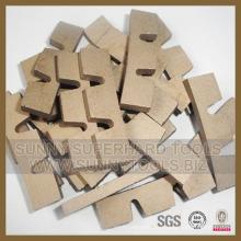 Diamantsegmente von Sägeblättern