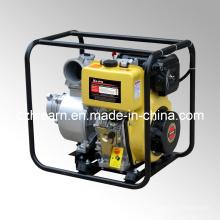 Pompe à eau diesel à 4 pouces Démarrage électrique Couleur jaune (DP40E)