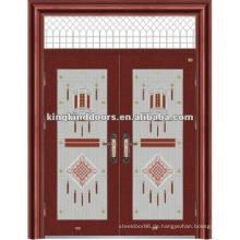 Doppelte Sicherheits-Tür mit Windows KKDFB-8009 mit CE, BV, TÜV, SONCAP