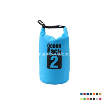Wholesale Custom Logo Foldable Roll Top PVC 2L Waterproof Dry Bag