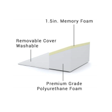 Triangle Wedge Memory Foam Pillow