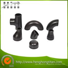 Raccords de tuyaux en acier au carbone (coude, bouchon, réducteur)