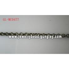 Cadeia de jóias de moda bronze antigo