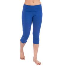Yoga fitness collants mulheres Capri Fitness Wear de roupas Crossfit (YG-56)