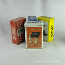 Metal Box Company, caja de metal pequeña, cajas de regalo de metal