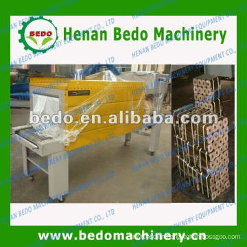 hot selling PE film heat shrink packing machine for wood briquettes