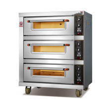 Commercial luxury alarm bread cake pizza electric oven