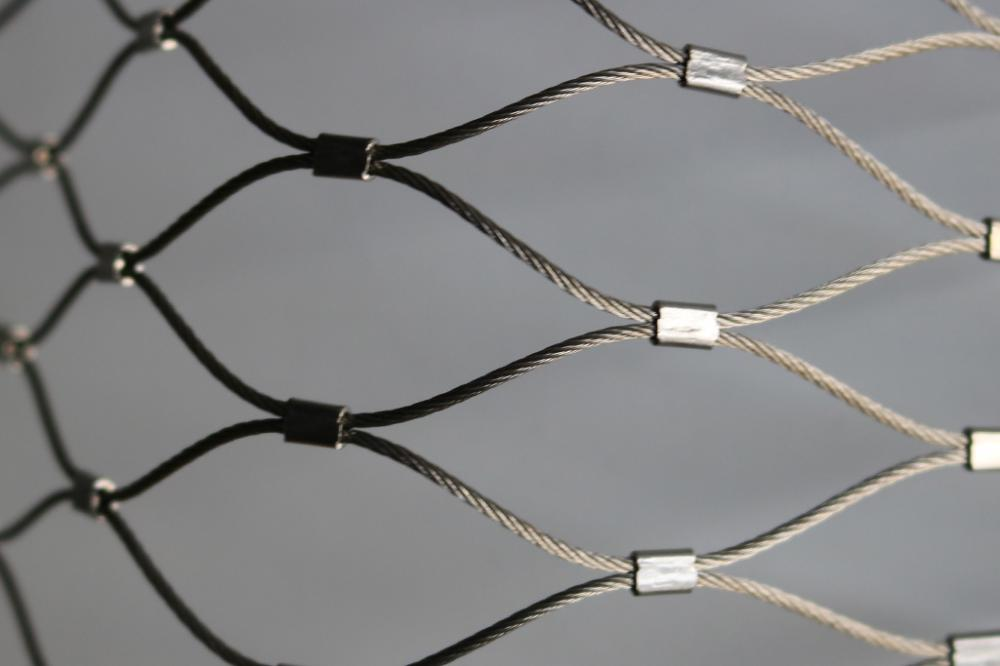 malla de cable de acero inoxidable TIGER ENCLOSURE MESH