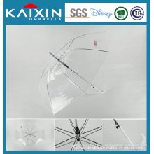 New Model Transparent Plastic Poe Umbrella