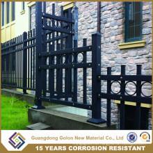 Construcción de valla de jardín de alta seguridad