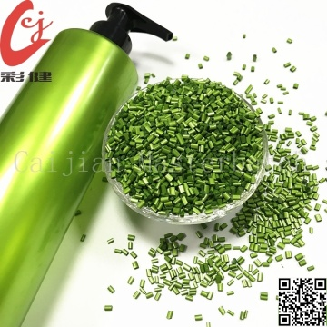 Pearlescent Green Masterbatch Granules