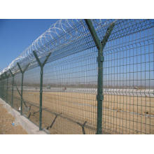 Y Style Barbed Wire Mesh Fence S315