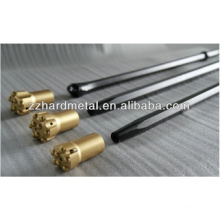 Taper Drilling Rods and Integral Rods Hex 22, Hex19