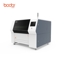 Fiber optic laser cutting machine for metal