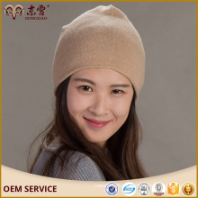 Sombrero hecho a mano 100% de cachemira para adultos
