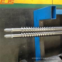 38CrMoAla bimetallic parallel twin screw and barrel
