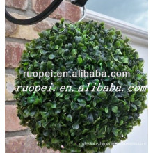synthetic buxus ball artificial topiary boxwood ball hanging for garden decor
