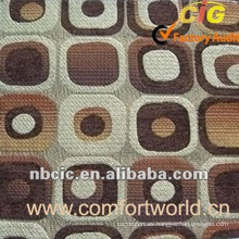 Tela del sofá de la chebilla del telar jacquar del poliéster del Chennel del 30% el 30%