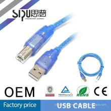 SIPU высокое качество usb принтер кабель мужчины к мужчине usb кабель mini мужской usb кабель