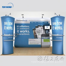 fabric roll display stands fabric display trade show exhibition booth