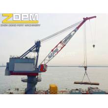 Port utilisé Marine Deck Crane Jib Crane grue de navire