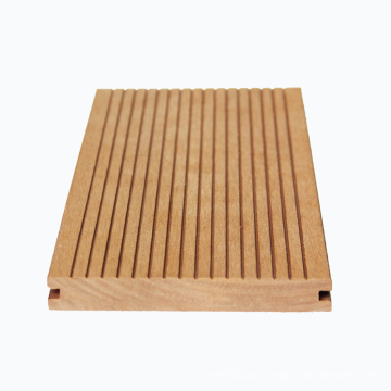 Deep grey 146*22 wooden grain surface deep embossing anti-rotten wpc outdoor decking composite decking for outdoor project