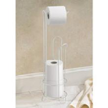 Интердизайн хромированная подставка рулон туалетной бумаги с держателем