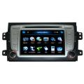 Lecteur DVD 2 DIN pour FIAT Sedici Navigation GPS Fonction tactile HD