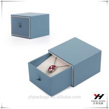 Belle création à clapet forme logo personnalisé imprimé boîtes à bijoux