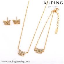 62538-Xuping очарование дамы новый стиль 3-х украшений бабочки набор