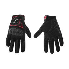 Venta al por mayor motocicleta guantes fríos motocicleta jinetes motor guante rojo moto motocross guantes