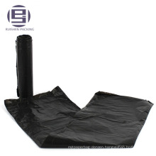 Cheap big capacity black plastic trash bags