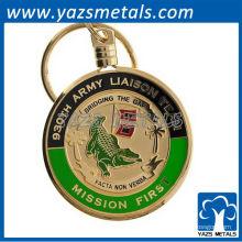пользовательские металлические брелки военные /армия контактной группы брелки/брелки военные