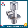 "bathroomfittingstainless steel angle valve 1/2""*3/4"" 316/304 control valve for hot garden cock water toilet plumbing 90 degree"