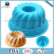Venda quente 9 polegadas partido silicone bolo pan Cake Bakeware Sc56